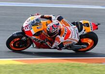 Marquez in testa nelle FP3 a Valencia