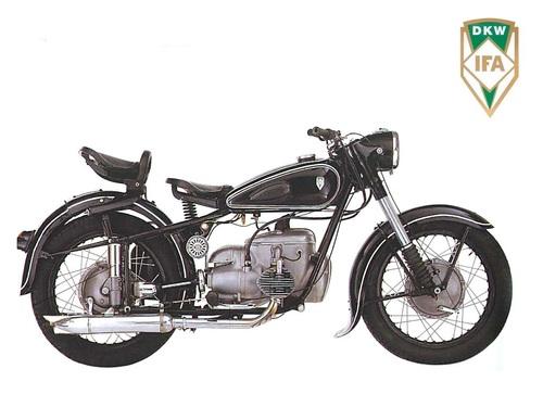 DKW IFA BK350, 1956