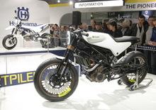 Husqvarna 701 Supermoto e 401 concept, video EICMA