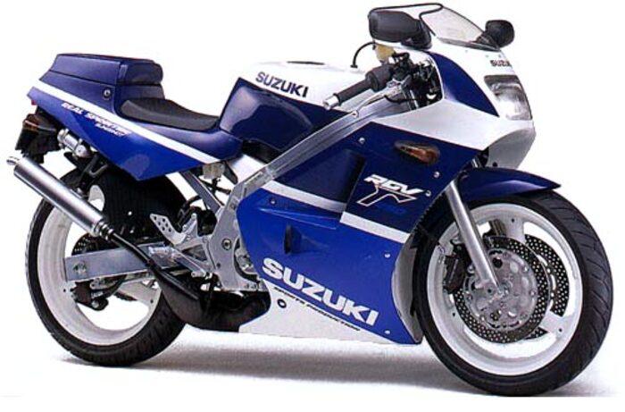 La Suzuki RGV 250 del 1988