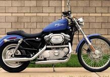 Harley-Davidson 883 Sportster Custom (1998 - 00) - XL 53C