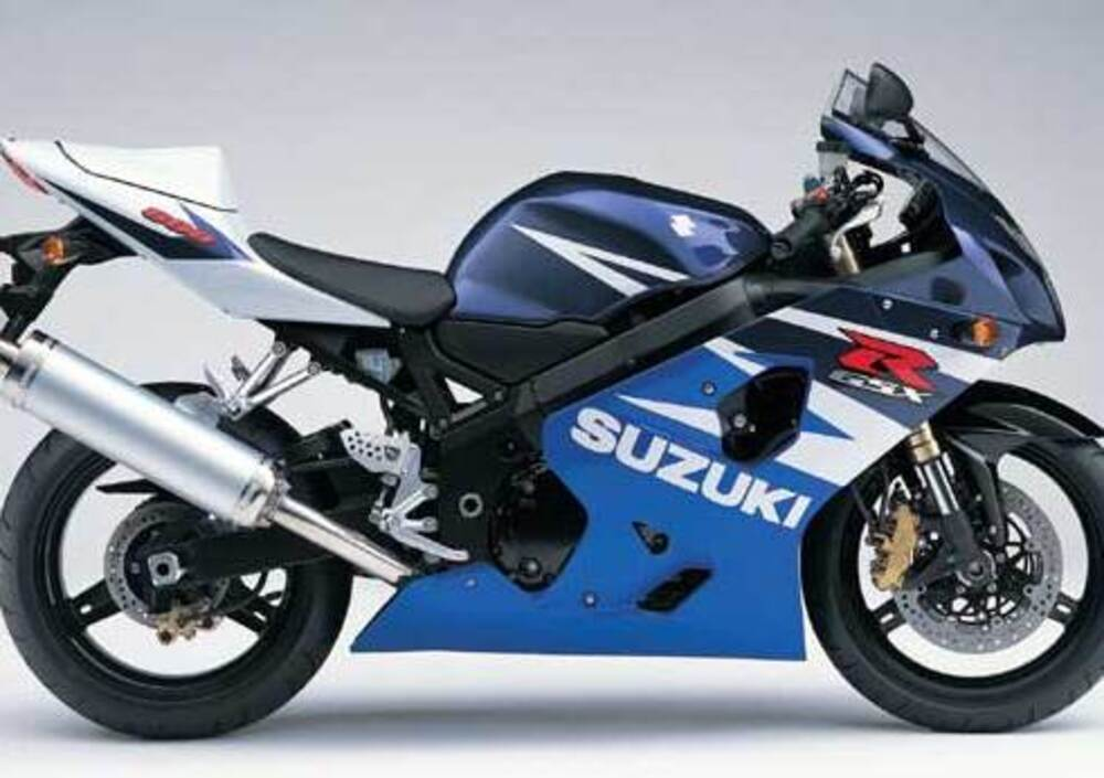 suzuki gsx r 600 2004 05 prezzo e scheda tecnica. Black Bedroom Furniture Sets. Home Design Ideas