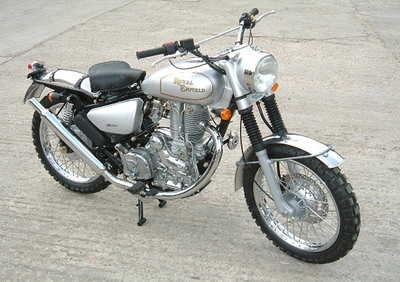 Royal Enfield Electra Trial