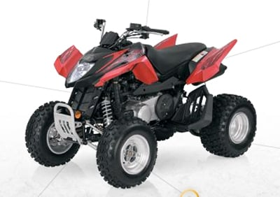 Arctic Cat 250 DVX