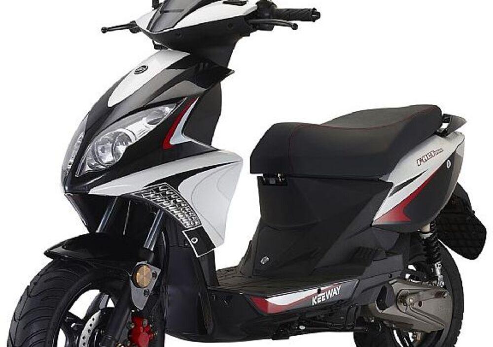 Keeway Motor F-Act 50 cc 2t Evo Sport (2009 - 18) (4)