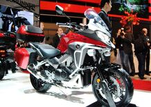 Honda Crossrunner 2015 e Forza 125, video EICMA