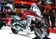 Honda Crossrunner 2015 e Forza 125, video EICMA