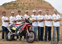 Martino Bianchi, HRC: 5 piloti e la moto nuova per l'obiettivo Dakar