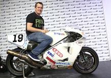 Classic TT 2015: John McGuinness in sella alla Norton rotativa