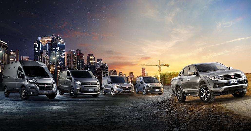Nuova gamma Fiat Professional 2016: dal Fiorino al Fullback
