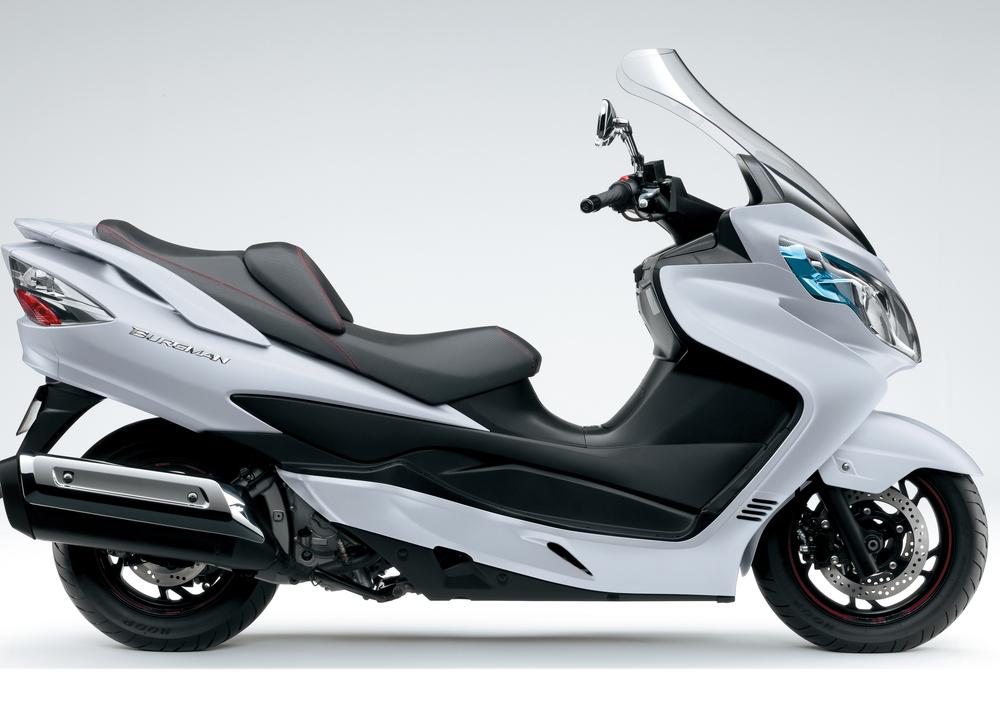 Suzuki Burgman 400 Lux (2012 - 16) (2)