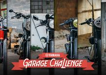 Yamaha XV 950 Garage Challenge