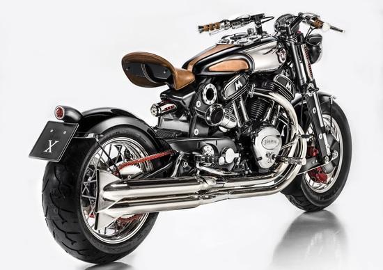 Matchless Model X Reloaded al Motor Bike Expo di Verona