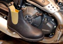 Scrambler Ducati e WP Lavori in corso presentano a Pitti Immagine Uomo lo stivaletto Blundstone 800