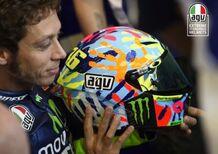 AGV: casco replica Valentino Rossi Misano ti dà una mano