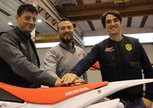 RedMoto, Occhini e il team Mabomotor al via dell'Italiano Supermoto 2015