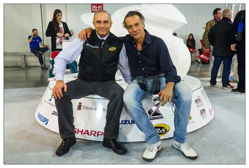 Andrea Carinato Cavalieri Ducati con Giovanni Cabassi