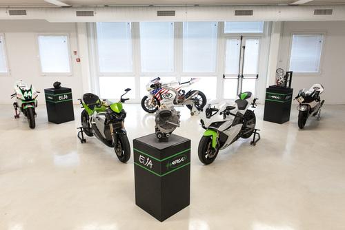 Lo showroom all'interno della nuova sede