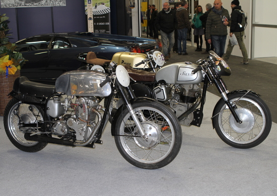 Automotoretrò Torino, le moto da vedere e comprare