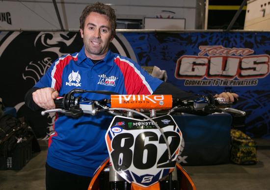 Mirko Lucchi, professione meccanico SX