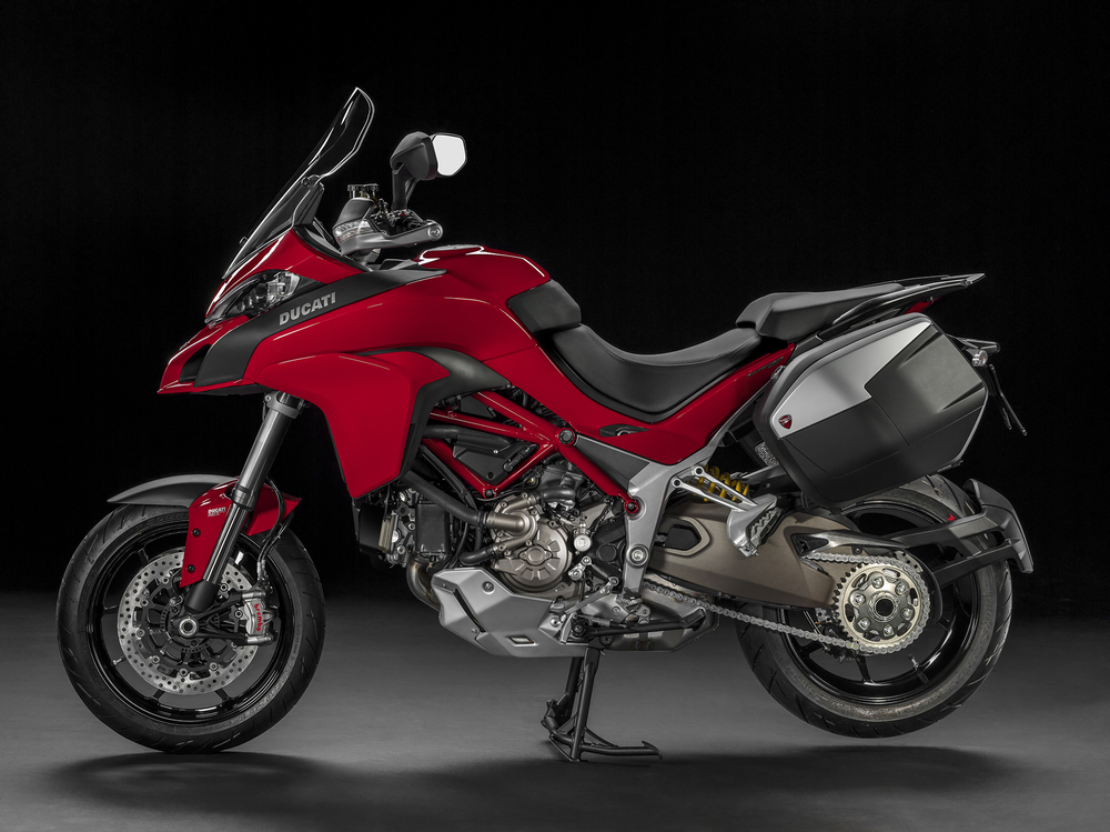 La Multistrada 1200 in allestimento Travel Pack