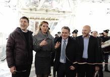 Fabrizio Frizzi ed Annalisa Minetti aprono Motodays 2015 (video)