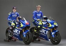 Presentato il team Suzuki Ecstar MotoGP
