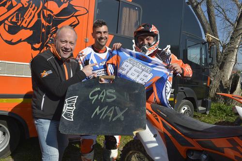 Max Giusti ha visitato Motodays in veste di pilota