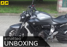 L'unboxing di Matteo: Yamaha MT-07