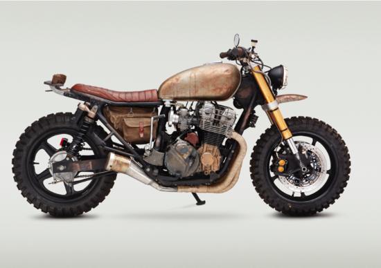 """Classified Moto Honda Nighthawk """"The Walking Dead"""""""