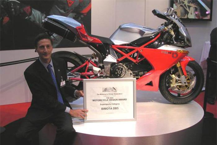 Sergio Robbiano e la Bimota DB5