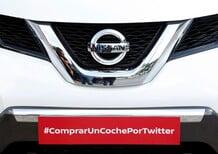 Nissan vende la prima auto su Twitter
