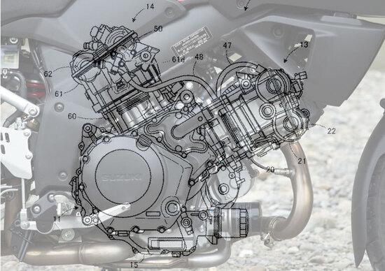 Suzuki V-Strom 1000, aggiornata con il VVT?