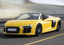 Audi R8 Spyder: da oggi si può ordinare