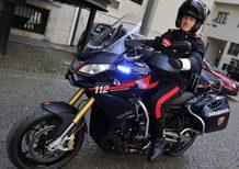 25 Aprilia Caponord 1200 all'Arma dei Carabinieri