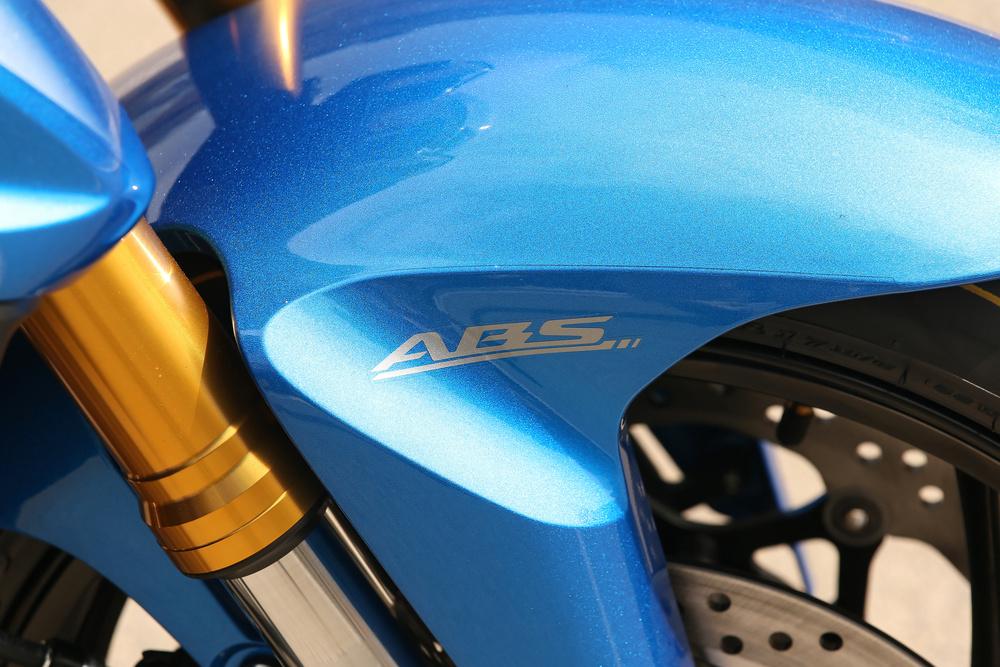 La Suzuki GSX-S è dotata di ABS di serie