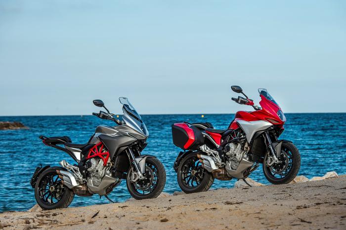 La Turismo Veloce 800 è la prima MV Agusta pensata per appagare i motociclisti nel turismo. Ha uno stile personale e una dotazione elettronica completa
