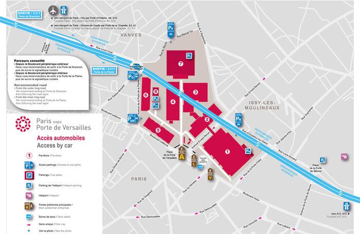 Salone di parigi 2016 informazioni utili orari - Parking paris porte d orleans ...