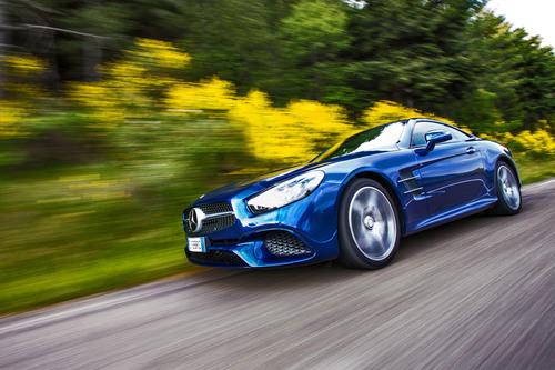 Mercedes-Benz SL restyling (W231): le foto più spettacolari