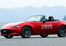 Mazda MX-5: un tour speciale negli Usa per il milionesimo esemplare