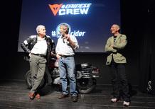 Agostini e Lucchinelli con Dainese per presentare il Webisode #5 Old Dogs