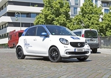 car2go: Milano prima città a sperimentare la smart forfour