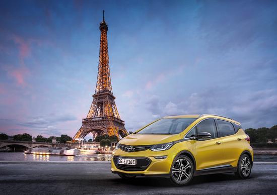 Opel Ampera-e, il debutto al Salone di Parigi