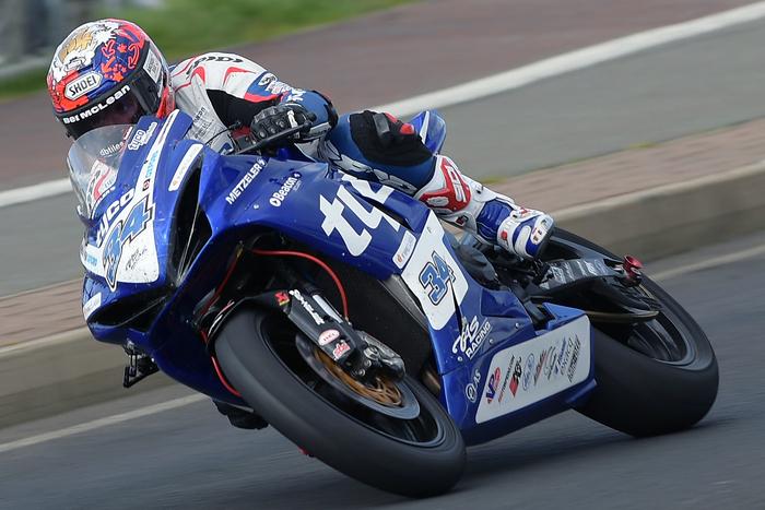 Alistair Seeley, recentissimo vincitore della Supersport alla North West 200
