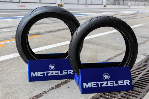 La scolpitura per le Metzeler Racetec RR è identica per tutte le versioni