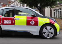 BMW i3: la nuova auto dei pompieri di Londra