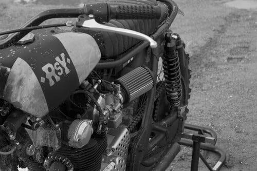 Anvil Rusty Quattroemezzo, flat track Honda (4)