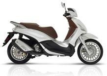 Piaggio Beverly: Euro 4, ABS e ASR di serie e nuovi colori