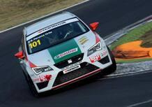 Seat Leon Cupra ST TCS: doppio 2° a Vallelunga per Perucca