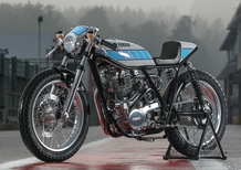 Yamaha SR 400 Krugger, vintage GP style